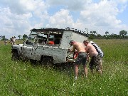 Muddled with our Land Rover